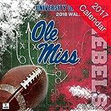 Mississippi Rebels 2017 Calendar