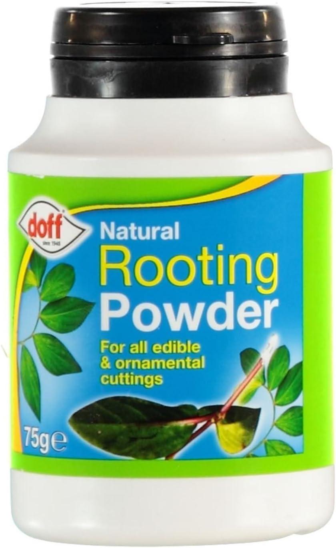 Polvo de hormonas enraizante Doff® (75 g, 2 unidades). Ayuda a las ...