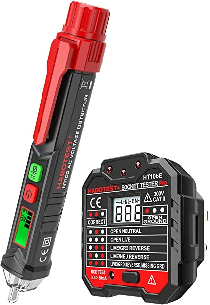 Details about  /Digital Socket Tester Voltage Tester Phase Check Detector With LCD Screen