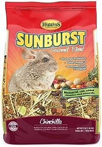 Higgins Sunburst Gourmet Chinchilla Food Mix