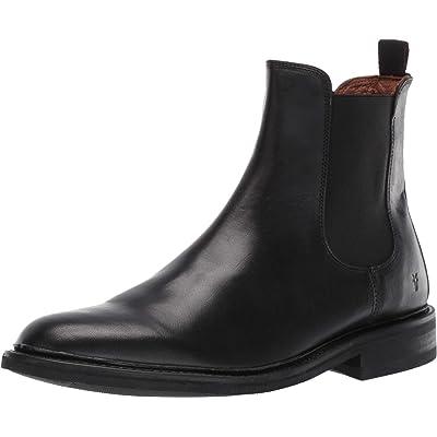 Frye Mens Seth Chelsea Black Chelsea Boots Boots 11: Shoes