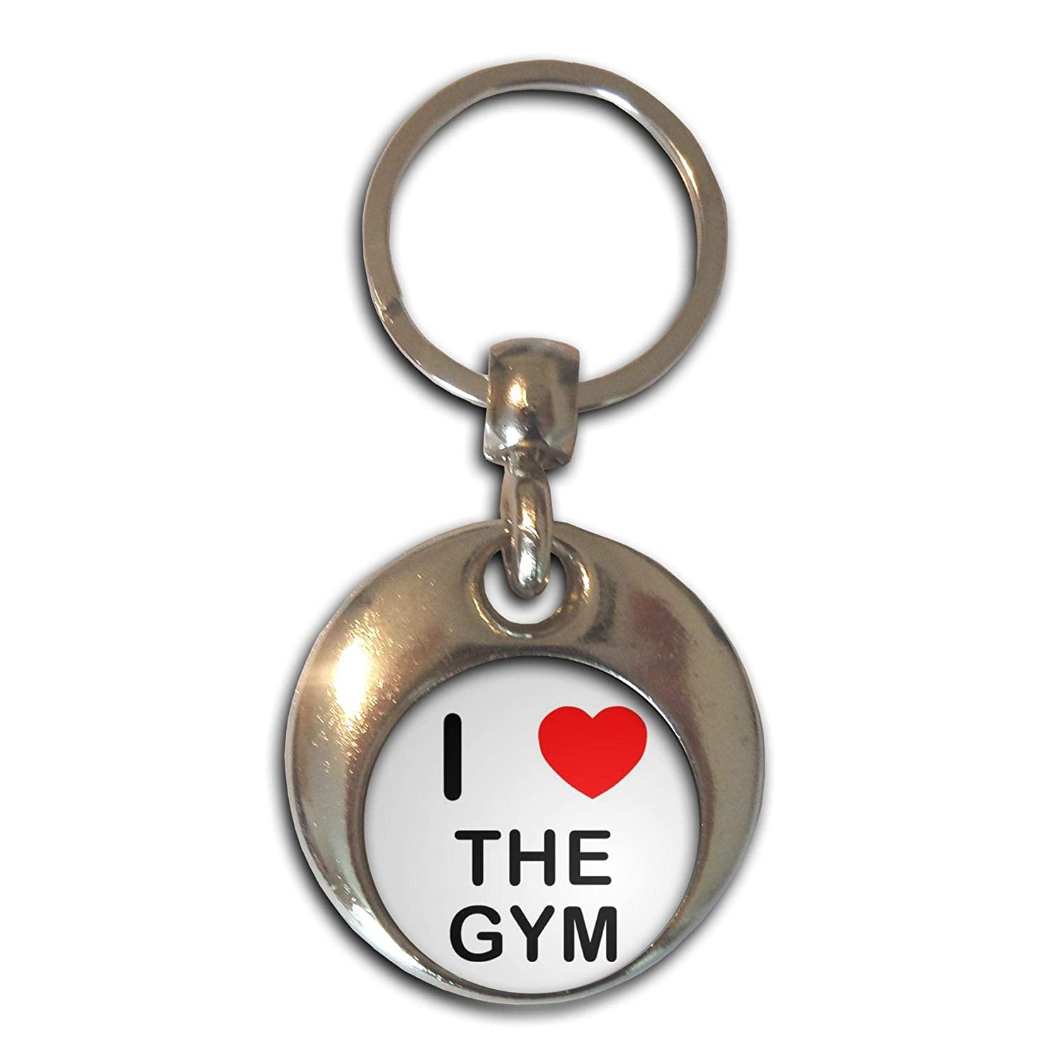 BadgeBeast.co.uk I love The Gym - Cromo Ronda de doble cara ...