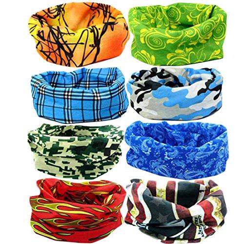 kilofly Multi purpose Seamless Headwear Bandanas