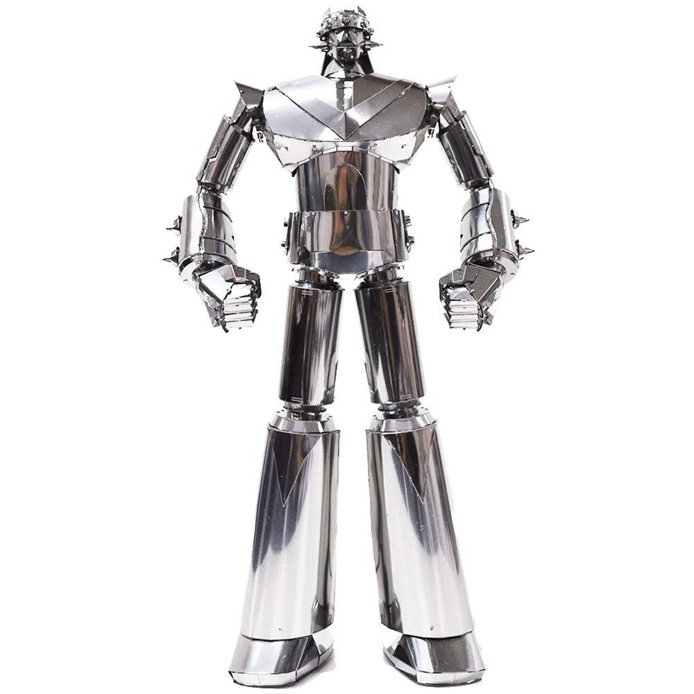 Sliver 3D Inno Metal Model Robot Taekwon V