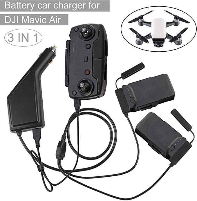 Car Charger for DJI Spark Drone Battery
