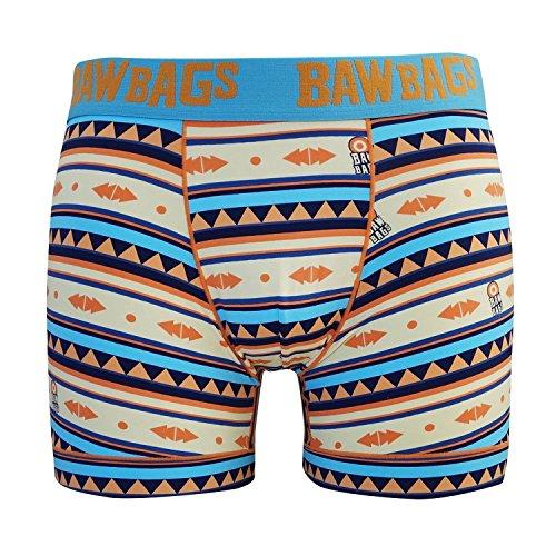 Bawbags Cool De Sac Aztech Boxer Shorts - Multi -Large