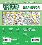 Brampton/ Orangeville / Georgetown, Ontario Street Map