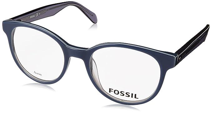 taglia 40 vasta gamma di scelta migliore Fossil Occhiali da Vista FOS 7012 BLUE uomo: Amazon.it ...