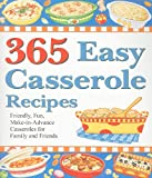 365 Easy Casserole Recipes, Cookbook Resources, 1597690058