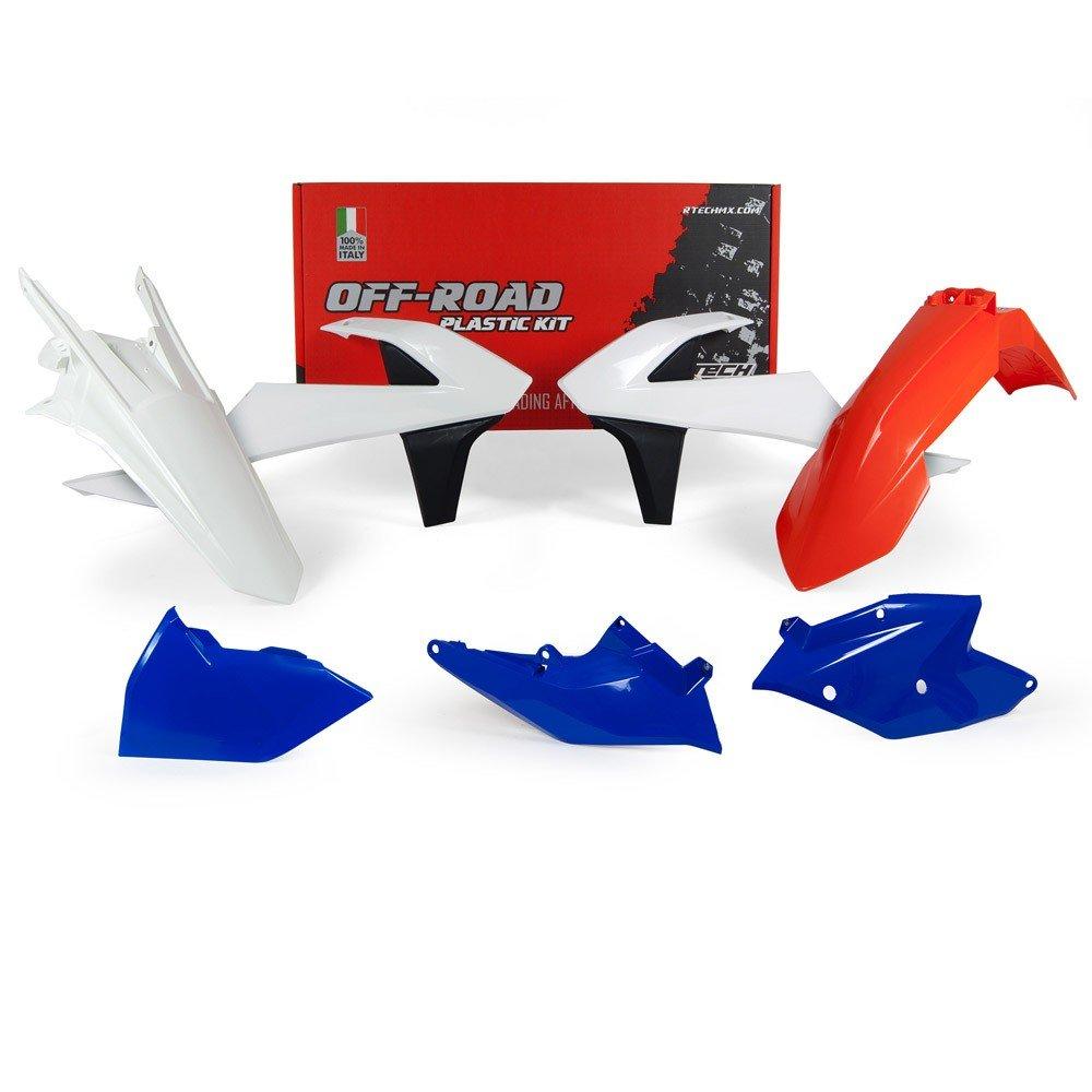 R Tech Kit Plastique RACETECH Couleur Origine Six Days 18 KTM R-KITKTM-OEM-427