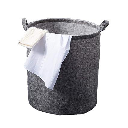 Wäschekorb WXF Schmutzige Kleidung Ablagekorb mit großer ...