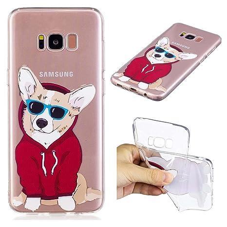 Amazon.com: Funda piel para Samsung Galaxy S8 Plus – Lindo ...