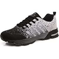 YAGAIU Hommes Femmes Mode Respirant Mesh Athletic Sport Running Shoes Route et Chemin