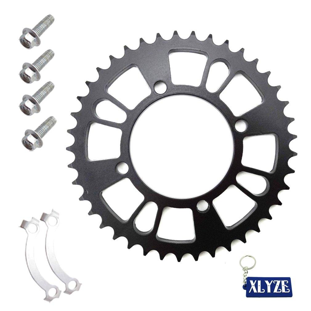 XLYZE 428 76mmm 41T Rear Chain Sprocket Fit 125cc 140cc SDG Demon SSR YCF GIO Pit Dirt Bike