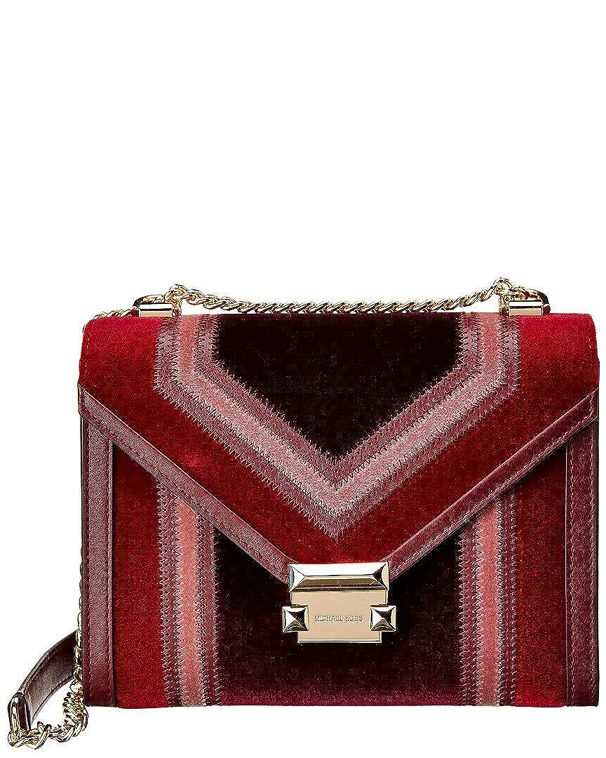 e9076079c8ee Michael Kors Whitney Large Velvet Shoulder Bag  Handbags  Amazon.com