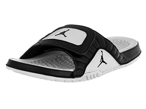 6c5889ead04 Nike Jordan Hydro XII Retro Black White Mens Sandals Size 7 UK: Amazon.es:  Zapatos y complementos