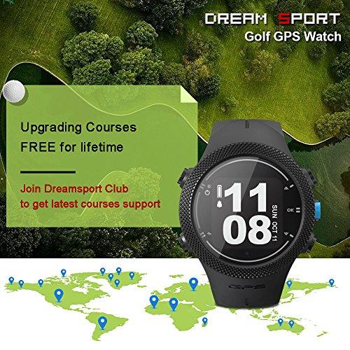 dreamsport Golf GPS Watch DGF301 new generation (Black) by dreamsport (Image #6)