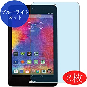 "【2 Pack】 Synvy Anti Blue Light Screen Protector for Acer iconia one 8"" B1-820 one8 Anti Glare Screen Film Protective Protectors [Not Tempered Glass]"