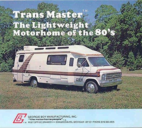 Trans Master (1982 Georgie Boy Trans Master Motorhome RV Brochure)