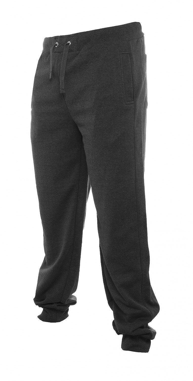 Urban Classics Straight Fit Sweatpants TB252, color:charcoal,size:XXL