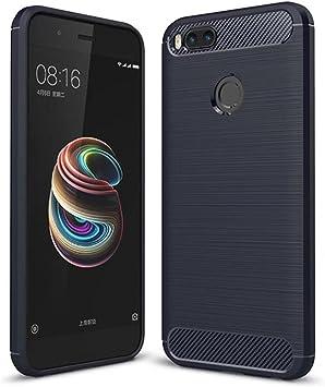 SPAK Xiaomi Mi 5X,Xiaomi Mi A1 Funda,Alta Calidad TPU Ultra Delgado Cubierta de Protección de Silicona para Xiaomi Mi 5X,Xiaomi Mi A1 (Azul): Amazon.es: Electrónica