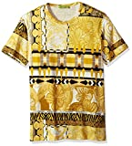 Versace Jeans Men's Allover Print T-Shirt, Oro, X-Large
