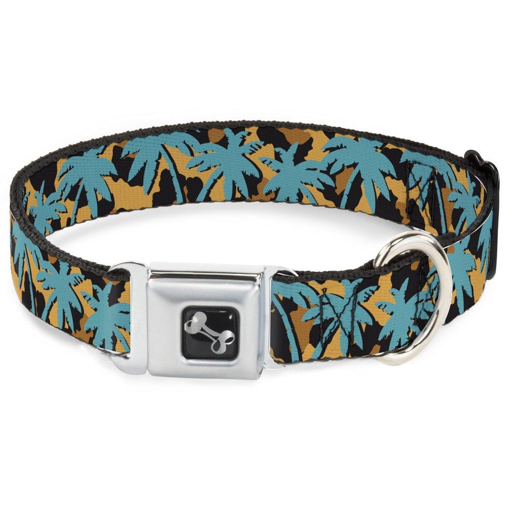 Buckle-Down DC-W34262-WM Seatbelt Dog Collar, 1.5  Wide-Fits 16-23  Neck-Medium