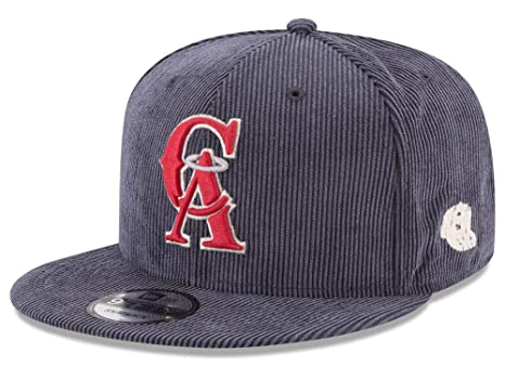 27f8971e89d1ea Image Unavailable. Image not available for. Color: New Era Los Angeles  Angels MLB All Cooperstown Corduroy 9FIFTY Snapback Cap