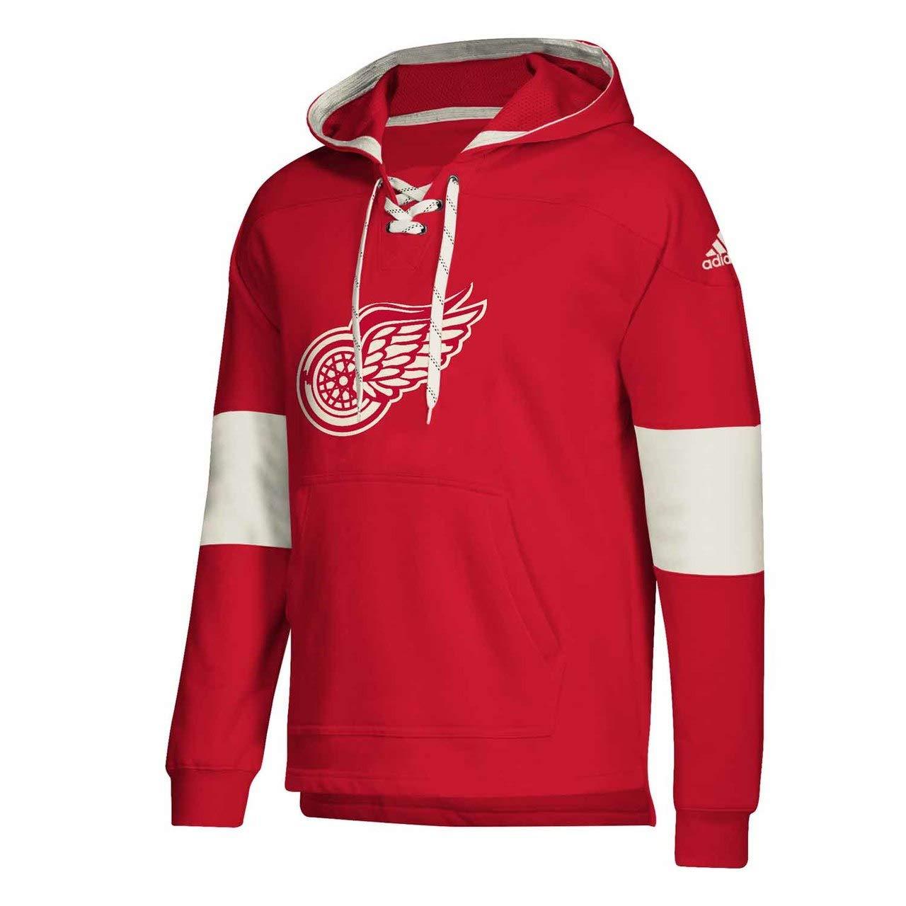 adidas Chicago Blackhawks NHL Men's Crossbar Vintage Jersey Sweatshirt
