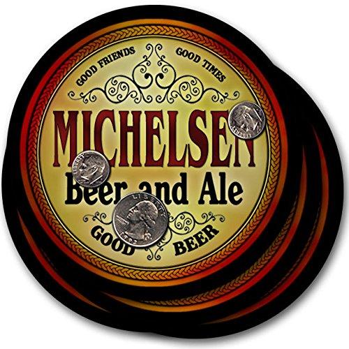 Michelsenビール& Ale – 4パックドリンクコースター   B003QXAPY4