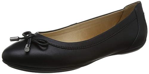 Geox Charlene D84Y7A Mujer Bailarinas,Merceditas,Bailarinas Clásicas,fémina Zapatos Planos,Bailarinas,Zapatos del Verano,Elegante,en Lazo,Ocio: Amazon.es: ...