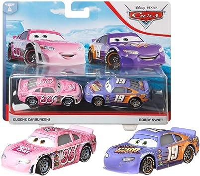 Disney Selección Doble Pack Cars | Modelos Vehículos 2020 | Cast 1:55 | Mattel, Cars Doppelpacks:Eugene Carbureski & Bobby Swift: Amazon.es: Juguetes y juegos