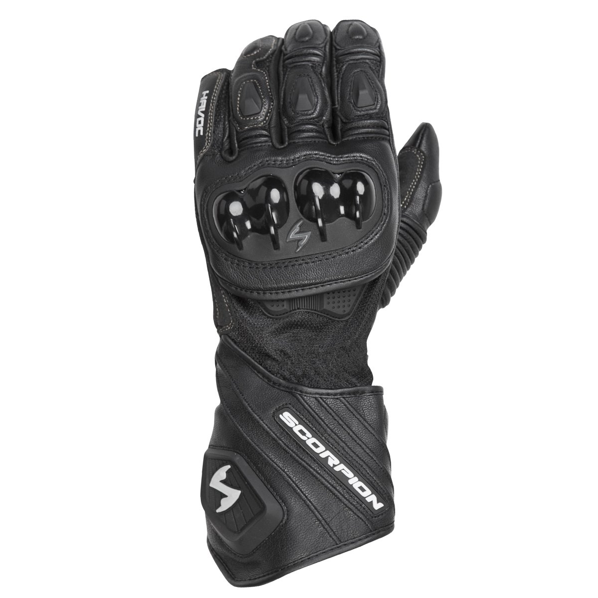 Scorpion Havoc Sport Motorcycle Glove (Black, Large)