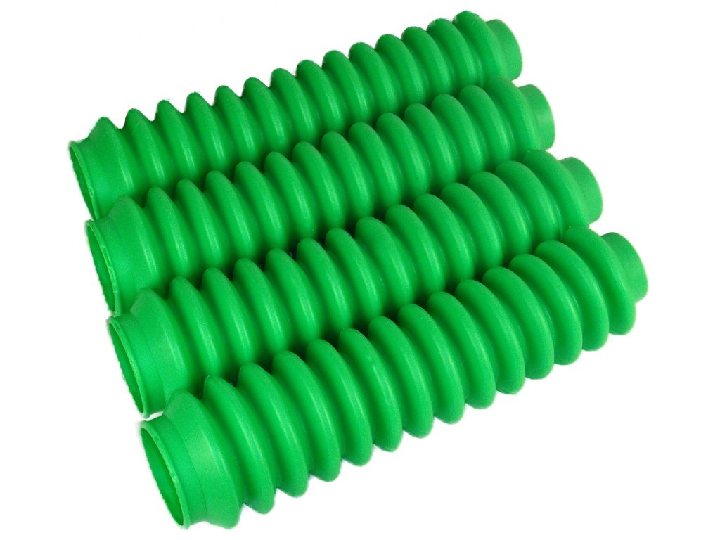 4 Shock Boots Lime Green Fits Most Shocks for Jeep Universal Off Road Vehicles