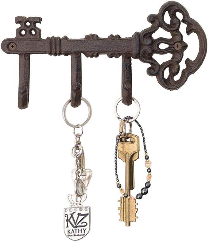 Details about  /Cast Iron Rustic Lobster Designed Singel Wall Hanger Vintage Metal Keys Hooks