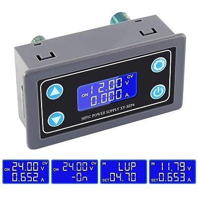 ICStation Buck Converter, Step Up Down Power Controller Supports Over-Discharge Protection Voltage Regulator Module DC 5.0V-30V to 0.5V-30V Boost Converter Adjustable.: Home Audio & Theater