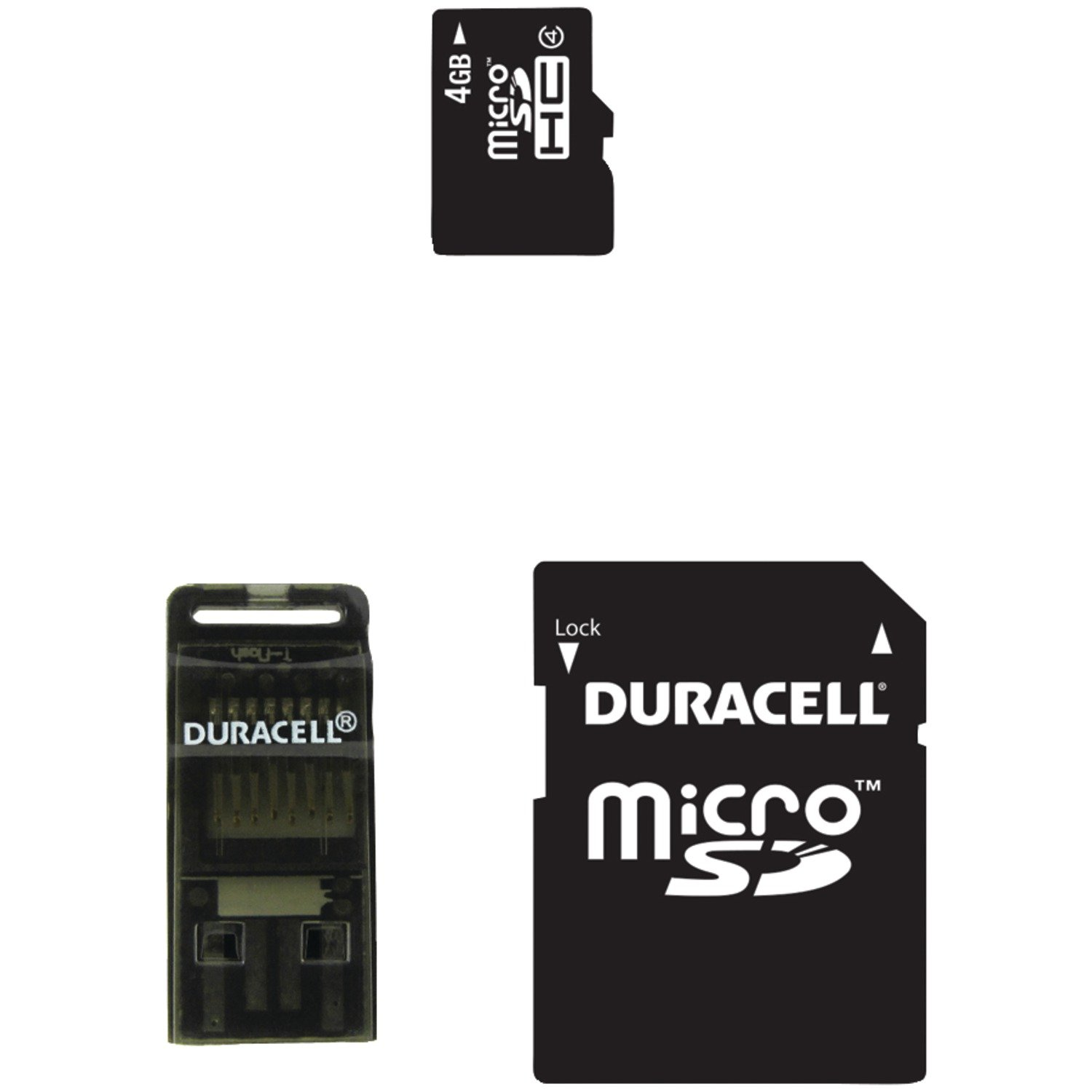 Dane-Elec 4 GB Class 4 Microsd Card (DA-3IN1-04G-R)