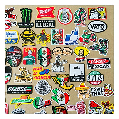 Super Mexican Hard Hat Stickers 82+ Mexico Hardhat Sticker & Decals, Helmet MX by Unknown (Image #1)