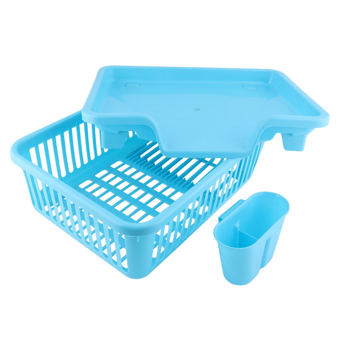 Amazon.com: uxcell Plastic Kitchen Hollow Out Plate Dish Bowl Drying ...
