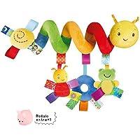 Juguete Colgantes Espiral del Animales para Cochecito,Cama, Cuna a Bebe,GZQES,Juguetes para Bebés y Primera Infancia,Colgantes para Cochecitos con Multicolor. (Estilo A)