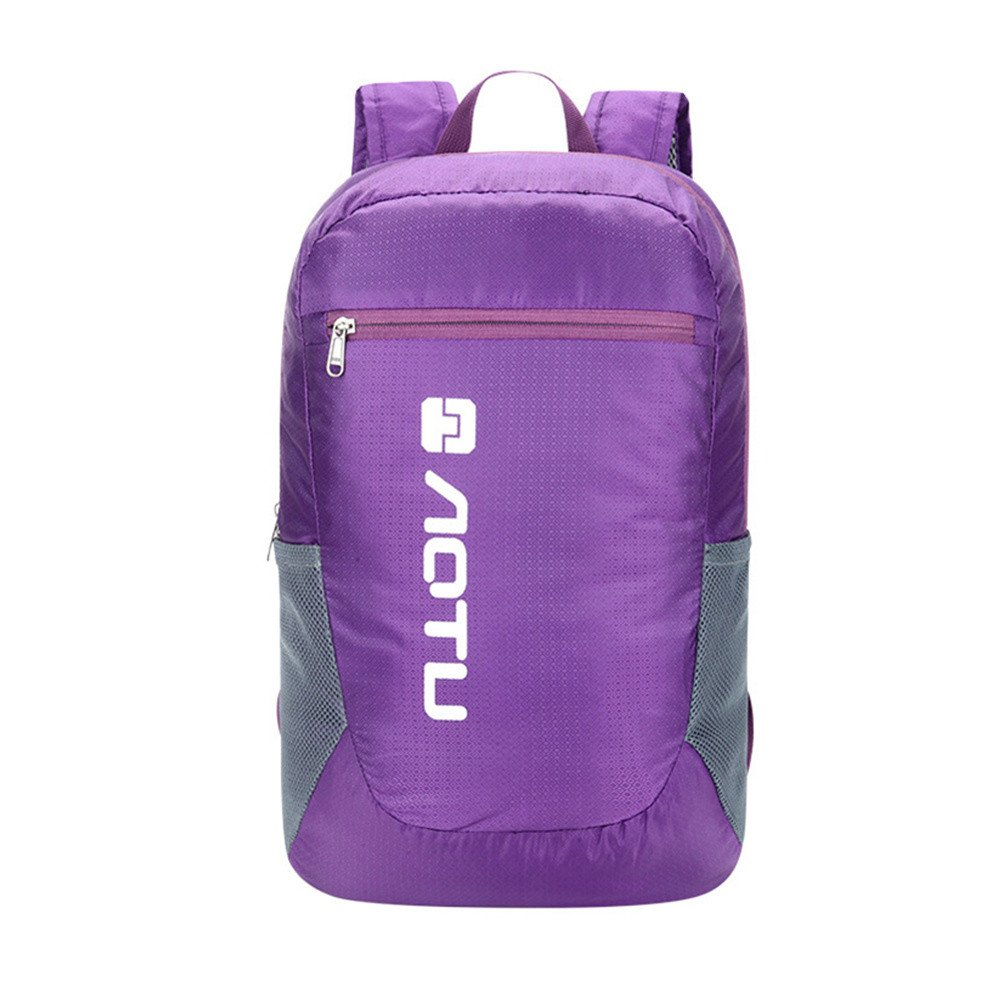 Travel Laptop Backpack Durable Casual Anti Theft Backpack Travel Bag with USB Charging Port and Headphone Jack Waterproof Large Compartment Daypacks for Women Men School (Purple)
