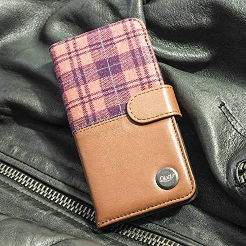 QIOTTI Q. Book Style Coque pour Apple iPhone 6 – Marron Pat