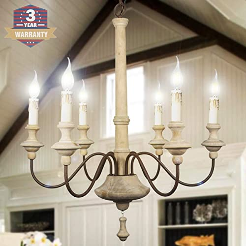 Chandelier,Wood Chandelier,RC 6-Lights,Light fixtures,Kitchen Island Chandelier,Restaurant Chandeliers,Kitchen Chandeliers,Retro Chandelier,Candle Chandelier,Farmhouse Chandelier,Ceiling Chandelier.