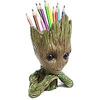 boxod Flowerpot Treeman Baby Groot Succulent Planter Cute Green Plants Flower Pot...