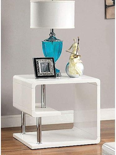 Deal of the week: Furniture of America CM4057E Ninove I White High Gloss End/Side/Nesting Tables