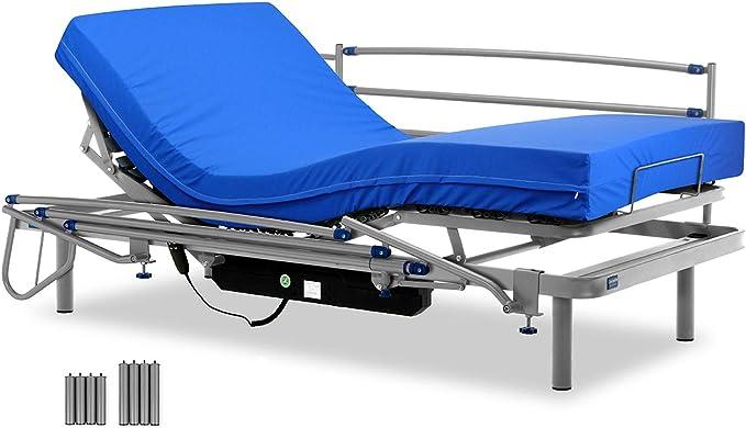 Gerialife® Cama articulada eléctrica con colchón Sanitario ...