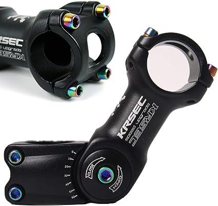 MTB Handlebar Stem Mountain Road Bike Stem Bicycle Cycling Stem 25.4mm//31.8mm