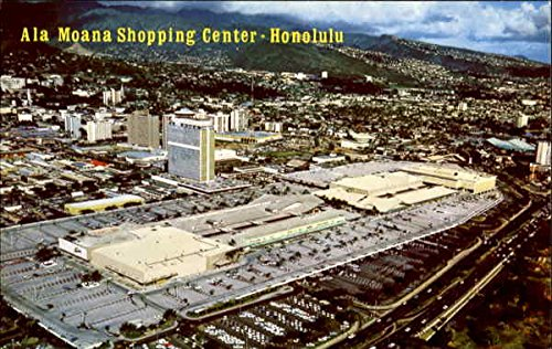 Ala Moana Shopping Center Honolulu, Hawaii Original Vintage - Shopping Moana Ala