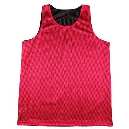 245d80712f2 TOPTIE Men's Tank Top, Reversible Mesh Tank, Basketball Jerseys, Lacrosse  Jersey-Black
