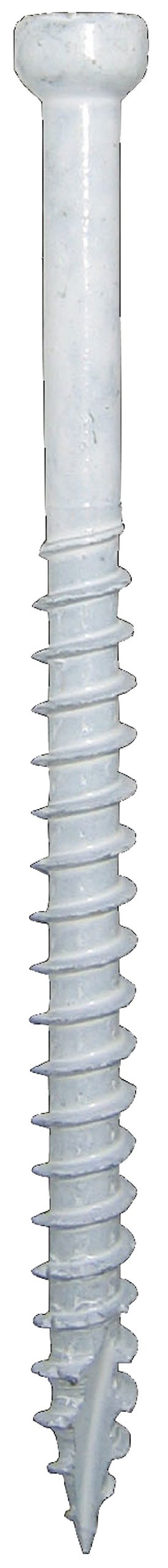 GRK 772691158284 White FIN/TRIM Number-8 by 2-Inch Bulk Box Screw, 4500-Piece